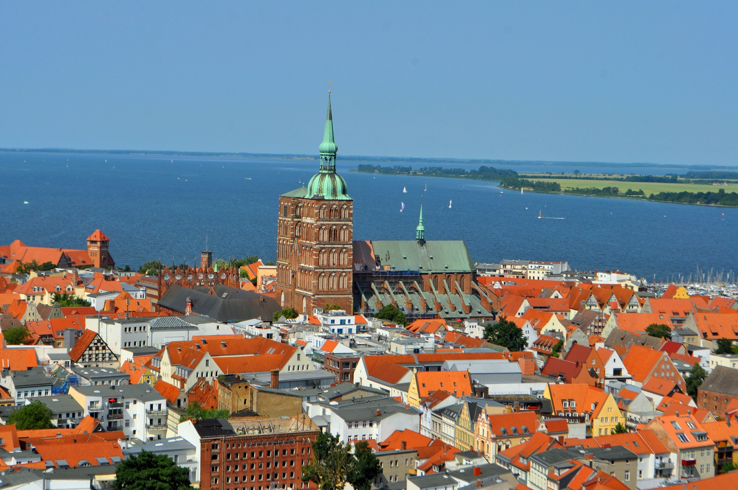 Filming locations in Germany - Stralsund & Wismar